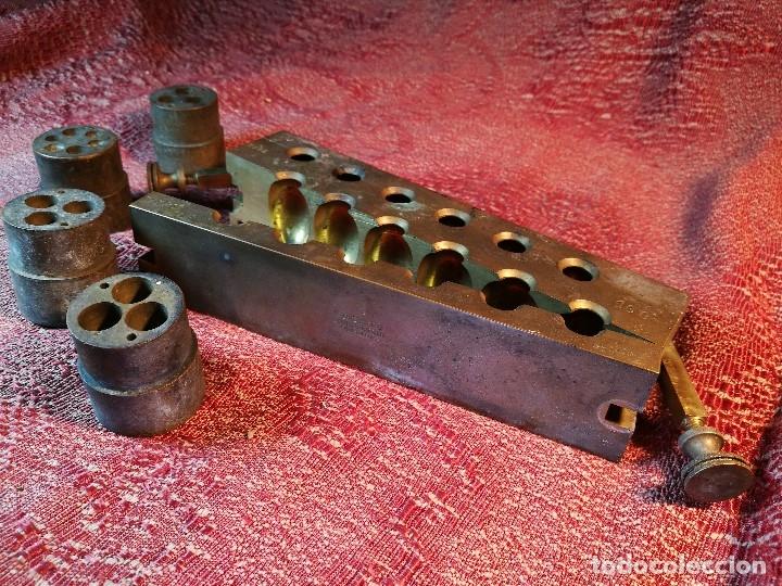 Antigüedades: molde de laton macizo para farmacia (supositorios y ovulos) LOTE 5 MOLDES-SEGAUD COURBEVOIE SEINE - Foto 33 - 152205418
