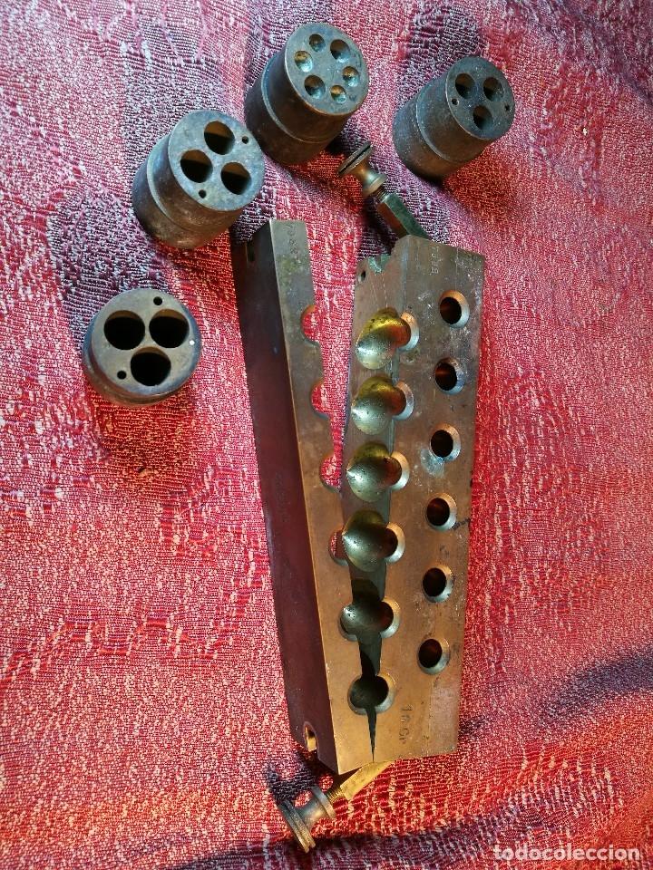 Antigüedades: molde de laton macizo para farmacia (supositorios y ovulos) LOTE 5 MOLDES-SEGAUD COURBEVOIE SEINE - Foto 36 - 152205418