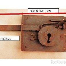 Antigüedades: CERRADURA ANTIGUA 1920-1940. Lote 152267206