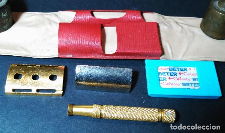 Antigüedades: BETER HOLLyWOOD, estuche, NUEVA TRASTIENDA, Española, maquinilla de afeitar, cuchilla, safety razor - Foto 4 - 152280646
