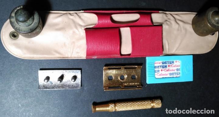 Antigüedades: BETER HOLLyWOOD, estuche, NUEVA TRASTIENDA, Española, maquinilla de afeitar, cuchilla, safety razor - Foto 5 - 152280646