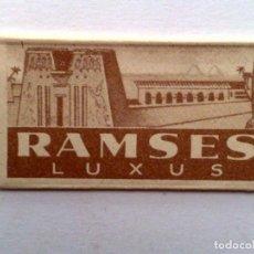 Antigüedades: HOJA DE AFEITAR ANTIGUA,RAMSES-LUXUS. Lote 152332594