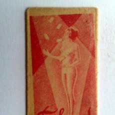 Antigüedades: HOJA DE AFEITAR ANTIGUA,TALENT. Lote 152334030