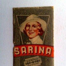 Antigüedades: HOJA DE AFEITAR ANTIGUA,SARINA. Lote 152334830