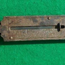 Antigüedades: ANTIGUA BALANZA O PESO DE MANO POCKET BALANCE. Lote 152348830