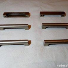 Antigüedades: 6 TIRADORES - POMOS AÑOS 80 MARCA STAMP (ESPLUGUES DE LLOBREGAT). Lote 152369218