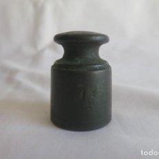 Antigüedades: PESA DE MEDIA LIBRA 1874 ESTRELLA. Lote 152396778