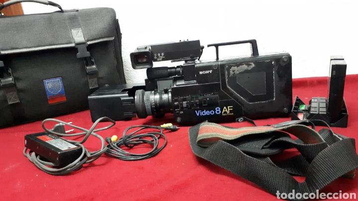 SONY VIDEO8 AF - MODELO CCD-V8AF / CÁMARA DE VÍDEO (Antigüedades - Técnicas - Aparatos de Cine Antiguo - Cámaras de Super 8 mm Antiguas)