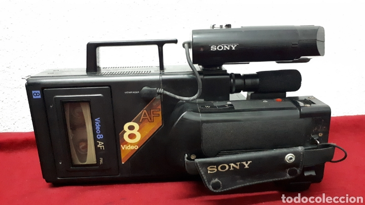 Antigüedades: SONY VIDEO8 AF - modelo CCD-V8AF / cámara de vídeo - Foto 3 - 158015100