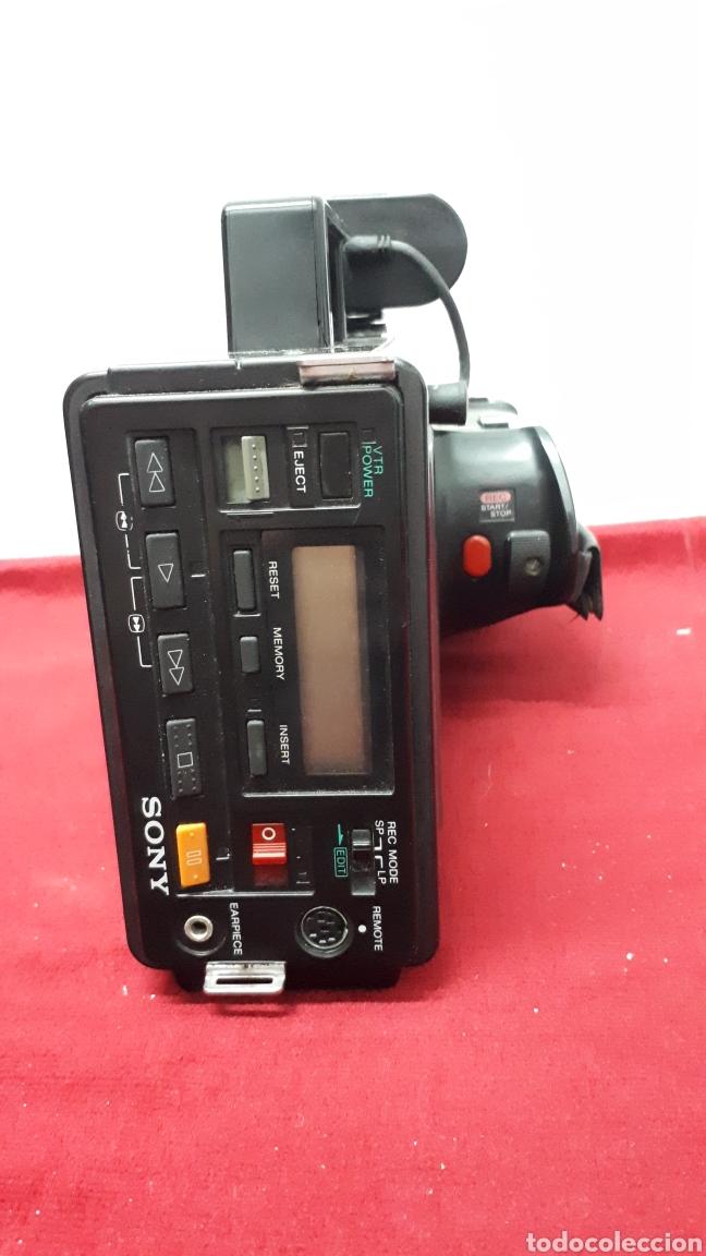 Antigüedades: SONY VIDEO8 AF - modelo CCD-V8AF / cámara de vídeo - Foto 5 - 158015100