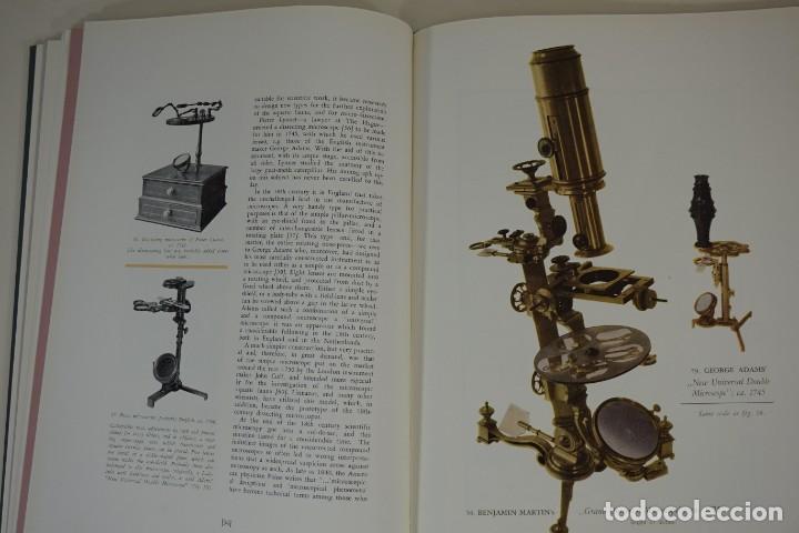 'MICROSCOPIUM' HISTORIA Y EVOLUCIÓN DEL MICROSCOPIO AÑO 1956 (Antigüedades - Técnicas - Instrumentos Ópticos - Microscopios Antiguos)