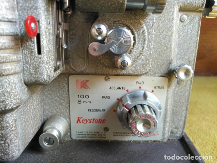 Antigüedades: Proyector 8mm Keyston K100 - Foto 2 - 152455662