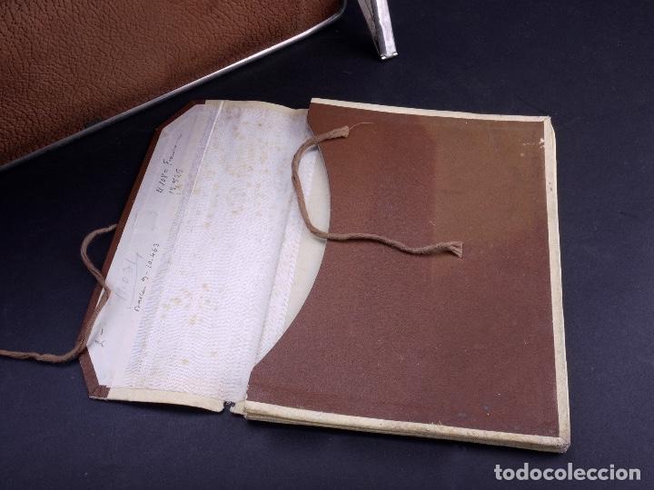Antigüedades: BOLSO EQUIPAJE DE AFEITADO Y ASEO - Foto 15 - 152468730