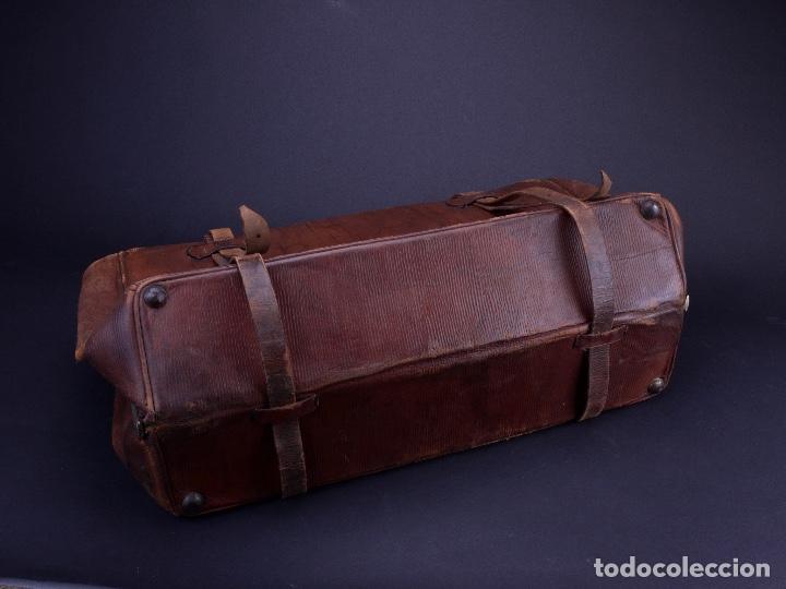 Antigüedades: BOLSO EQUIPAJE DE AFEITADO Y ASEO - Foto 21 - 152468730