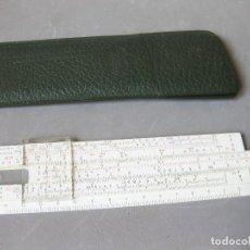 Antigüedades: REGLA DE CALCULO FABER CASTELL 67/54 B DARMSTADT CON FUNDA - SLIDE RULEEE RULE RECHENSCHIEBER. Lote 152545862