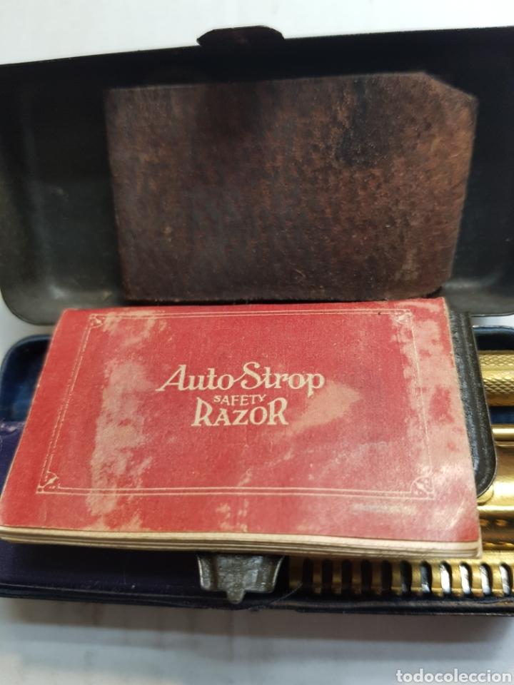 Antigüedades: Máquina antigua afeitar Valet AutostropRazor USA - Foto 2 - 152548678