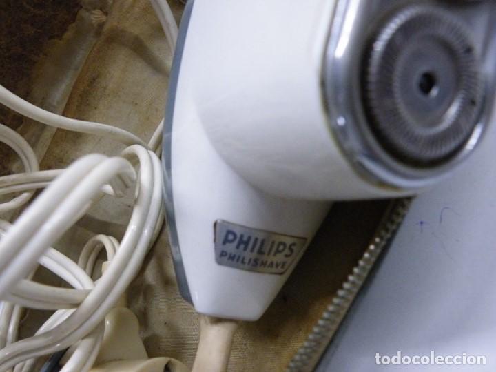 Antigüedades: Philishave Maquina electrica de afeitar. - Foto 3 - 152676814