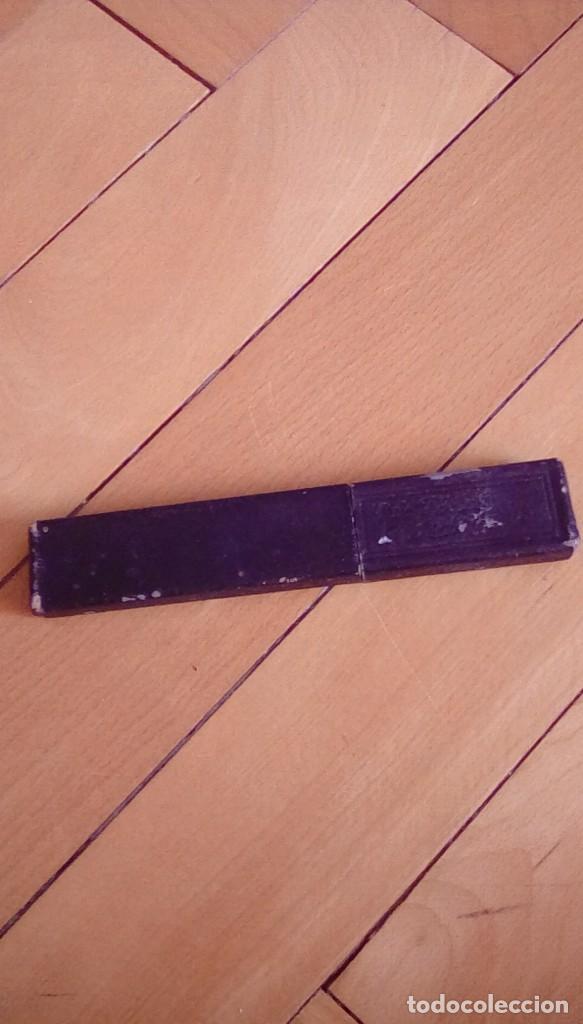 Antigüedades: navaja de afeitar de barbelé ce.kirschner, banderoles &group germany. Finest steel - Foto 7 - 152719922