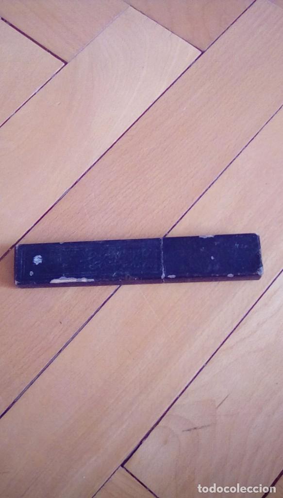 Antigüedades: navaja de afeitar de barbelé ce.kirschner, banderoles &group germany. Finest steel - Foto 8 - 152719922