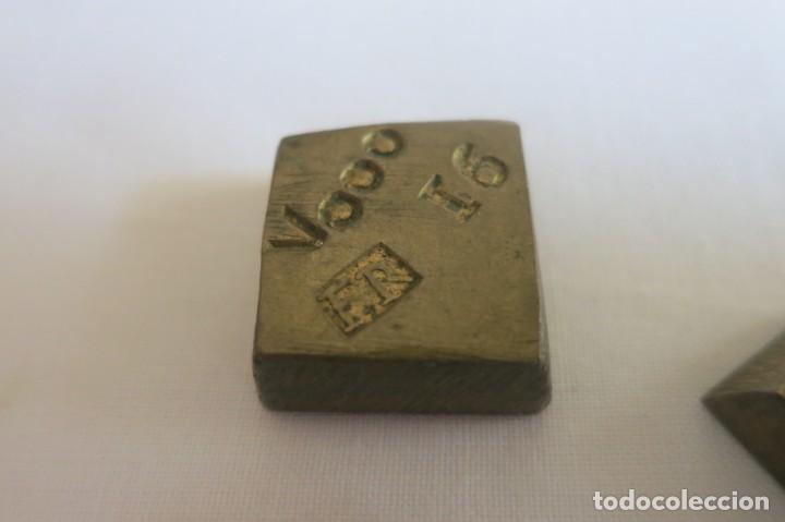Antigüedades: ponderales para el peso del oro FR y FARRIOL 1798 - Foto 3 - 152749834