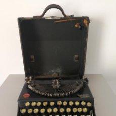 Antigüedades: ANTIGUA MAQUINA DE ESCRIBIR REMINGTON PORTABLE. Lote 192191250