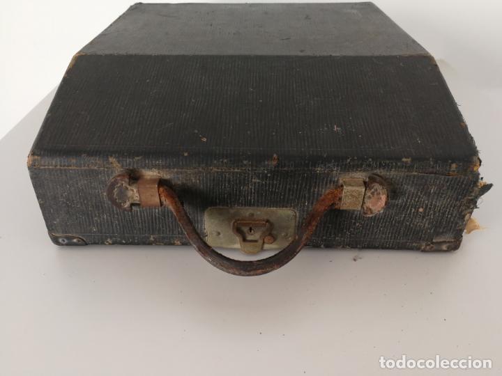 Antigüedades: ANTIGUA MAQUINA DE ESCRIBIR REMINGTON PORTABLE - Foto 17 - 152779446