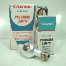 Antigüedades: NUEVA¡¡ LAMPARA PROYECTOR-SYLVANIA SYL-17 8V-50W P15S+CAJA-SIN USO-SILVANIA SYL17 BOMBILLA MARCIANA . Lote 156695432