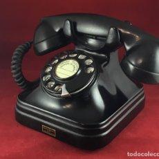Teléfonos: ANTIGUO TELÉFONO BAQUELITA NEGRA DE STANDARD ELÉCTRICA, 5523A, PARA LA CTNE.. Lote 140857174