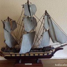 Antigüedades: BARCO ARMADA MAQUETA. Lote 152883902
