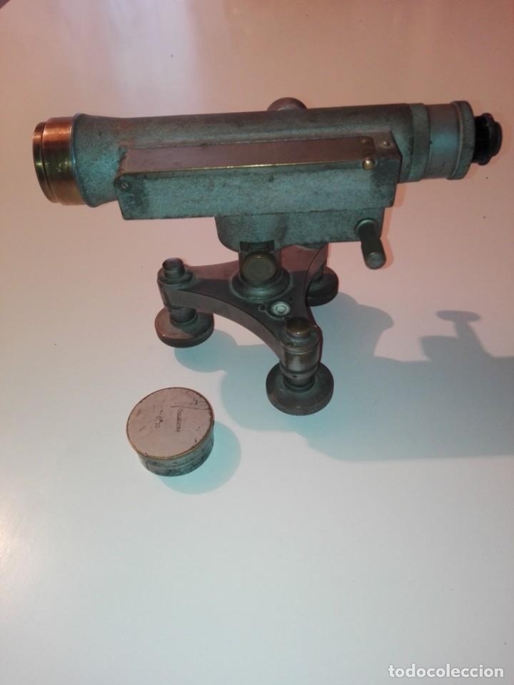 Antigüedades: AntiguoTeodolito topográfico nivel, konstante f.w breithaupt & sohn, cassel 34163 - Foto 11 - 152891658