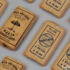 Antigüedades: HILO GLASÉ, SUPERIOR PARA COSER,RAMÓN JULIÁ AÑOS 30-40. Lote 152891738