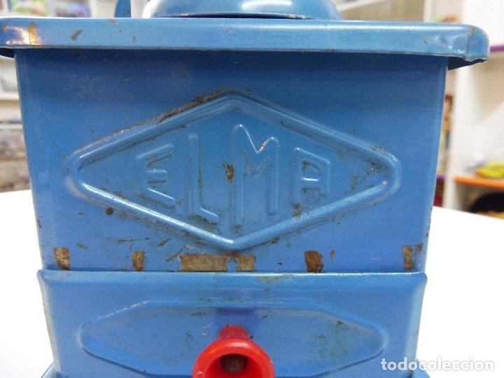 Antigüedades: Molinillo de café Elma azul - Foto 2 - 152936018