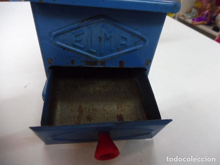 Antigüedades: Molinillo de café Elma azul - Foto 3 - 152936018