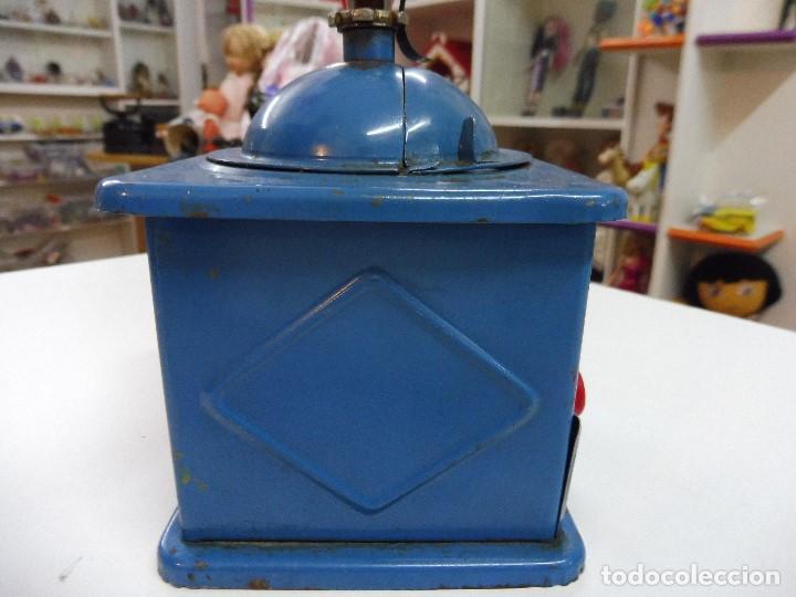 Antigüedades: Molinillo de café Elma azul - Foto 7 - 152936018
