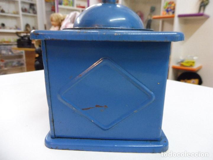 Antigüedades: Molinillo de café Elma azul - Foto 9 - 152936018