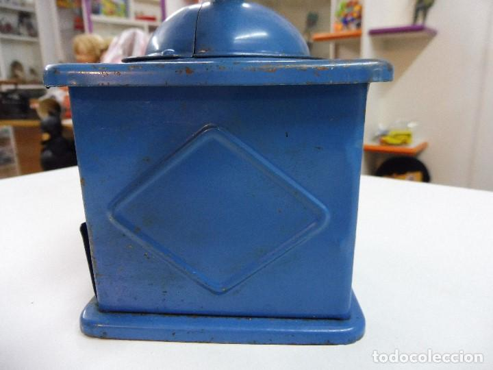 Antigüedades: Molinillo de café Elma azul - Foto 10 - 152936018