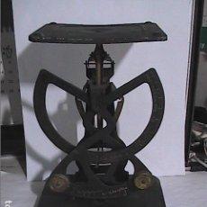 Antigüedades: EXCELENTE BALANZA BILATERAL COLUMBUS. 500 GR. FINALES S.XIX.. Lote 153053926