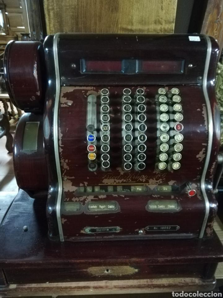 MÁQUINA REGISTRADORA (Antigüedades - Técnicas - Aparatos de Cálculo - Cajas Registradoras Antiguas)