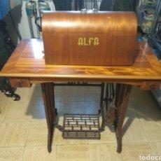 Antigüedades - Antigua Máquina de Coser ALFA - ALFA EIBAR, ESPAÑA - - 153374862