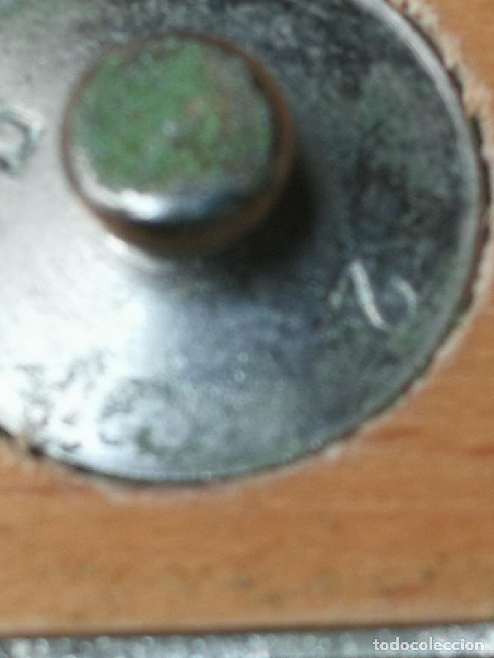 Antigüedades: balanza precision - Foto 15 - 153397042