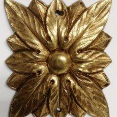 Antigüedades: PIEZA BRONCE SOL RECTANGULAR MEDIDAS 5 CM X 6 CM. Lote 153470874