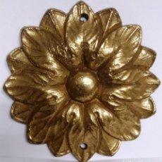 Antigüedades: PIEZA BRONCE SOL REDONDO MEDIDAS 5,5 CM DIAMETRO. Lote 153471018
