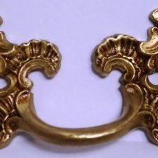 Antigüedades: ASA LUIS XV EN BRONCE MEDIDAS 10 CM X 4,5 CM. Lote 153471374