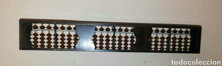 Antigüedades: ABACO JAPONES SOROBAN. DE BAKELITA. SIN USO. ENVIO CERTIFICADO INCLUIDO. - Foto 2 - 153517770