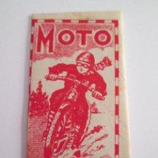 Antiguidades: HOJA DE AFEITAR - MOTO . Lote 153525274
