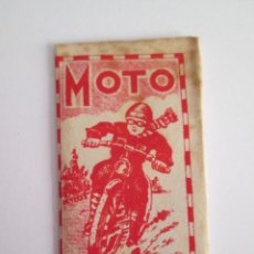 Antigüedades: HOJA DE AFEITAR - MOTO . Lote 153525330