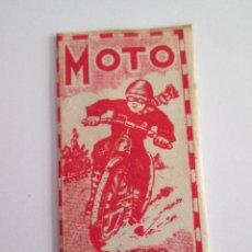 Antigüedades: HOJA DE AFEITAR - MOTO . Lote 153525374