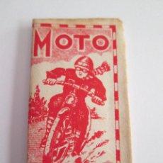 Antigüedades: HOJA DE AFEITAR - MOTO . Lote 153525426