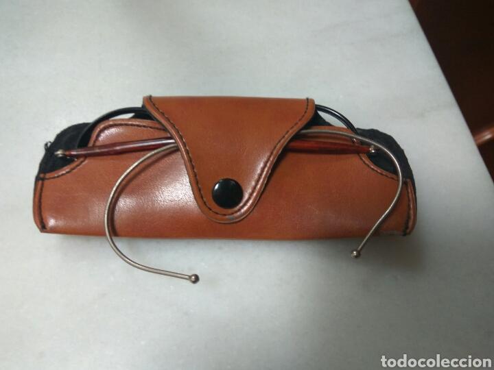 Antigüedades: jonh lennon funda+gafas antiguas redondas. nuevas. - Foto 3 - 46389731