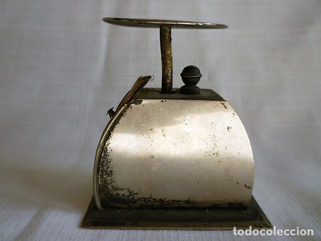 Antigüedades: MUY ANTIGUO PESO DE CARTERO DE ACERO REGULABLE, GRADUADO DE 0 A 100 GR.- GRAMM. CIRCA 1930 - Foto 4 - 153692518